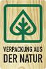 verpackung aus der natur