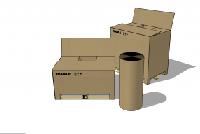 Karton Verpackungen und Zubehör